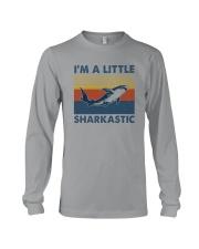 I'M A LITTLE SHARKASTIC Long Sleeve Tee thumbnail