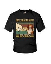 BEST  Beagle MOM EVER s Youth T-Shirt thumbnail