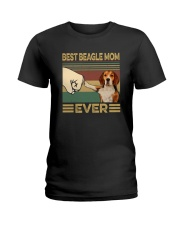 BEST  Beagle MOM EVER s Ladies T-Shirt thumbnail