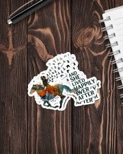 AND SHE LIVED HAPPILY EVER AFTER 1 Sticker - 4 pack (Vertical) aos-sticker-4-pack-vertical-lifestyle-front-05