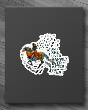 AND SHE LIVED HAPPILY EVER AFTER 1 Sticker - 4 pack (Vertical) aos-sticker-4-pack-vertical-lifestyle-front-10