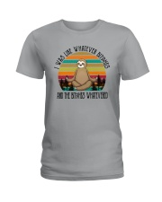 I WAS LIKE WHATEVER BICHES Ladies T-Shirt thumbnail