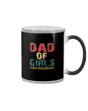 DAD OF GIRLS Color Changing Mug tile