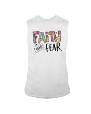 FAITH OVER FEAR Sleeveless Tee thumbnail