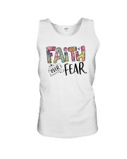FAITH OVER FEAR Unisex Tank thumbnail