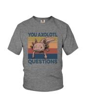 YOU AXOLOTL QUESTIONS Youth T-Shirt thumbnail