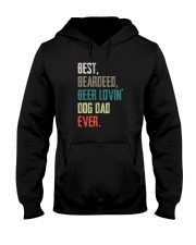 BEARDED BEER LOVIN DOG DAD Hooded Sweatshirt thumbnail