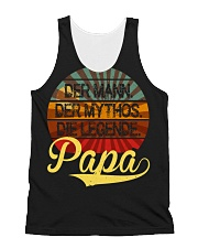 PAPA DER MANN DER MYTHOS DER LEGENDE All-over Unisex Tank thumbnail