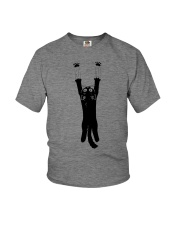 BLACK CAT HUG BODY Youth T-Shirt thumbnail