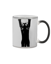 BLACK CAT HUG BODY Color Changing Mug thumbnail