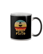 DADDIO OF HE PATIO CIRCLE Color Changing Mug thumbnail