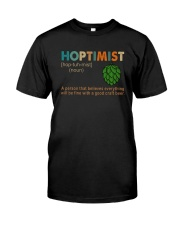 Hoptimist Vintage Classic T-Shirt front