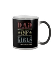 DAD OF GIRLS OUTNUMBERED Color Changing Mug thumbnail