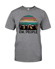 FUNNY CATS EW PEOPLE Classic T-Shirt front