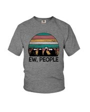 FUNNY CATS EW PEOPLE Youth T-Shirt thumbnail