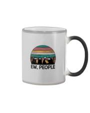 FUNNY CATS EW PEOPLE Color Changing Mug thumbnail