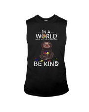 BE KIND AUTISM SLOTH Sleeveless Tee tile