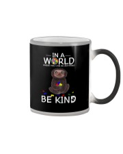 BE KIND AUTISM SLOTH Color Changing Mug thumbnail