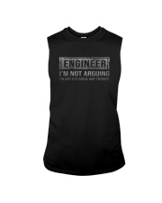 ENGINEER I'M NOT ARGUING Sleeveless Tee thumbnail