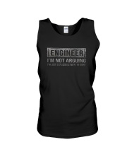 ENGINEER I'M NOT ARGUING Unisex Tank thumbnail