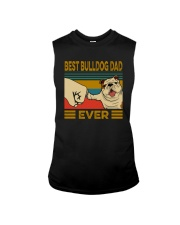 BEST BULLDOG DAD EVERs Sleeveless Tee thumbnail