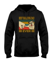 BEST BULLDOG DAD EVERs Hooded Sweatshirt tile