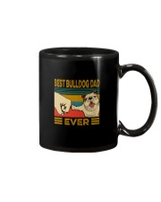 BEST BULLDOG DAD EVERs Mug tile
