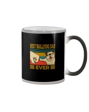 BEST BULLDOG DAD EVERs Color Changing Mug tile