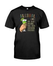 ALCOHOL NOUN Classic T-Shirt front