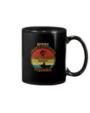 I WAS THINKING ABOUT FISHING Mug thumbnail