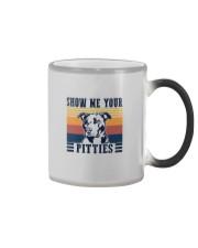 SHOW ME YOUR PITTIES Color Changing Mug thumbnail
