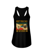 BEST PUG DAD EVER s Ladies Flowy Tank thumbnail