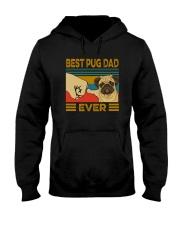 BEST PUG DAD EVER s Hooded Sweatshirt thumbnail