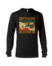 BEST PUG DAD EVER s Long Sleeve Tee thumbnail