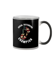 SOCIAL DISTANCING CHAMPION Color Changing Mug thumbnail