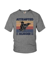 ATTEMPTED MURDER Youth T-Shirt thumbnail