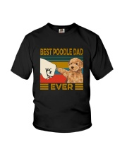 BEST  Poodle DAD EVER Youth T-Shirt thumbnail