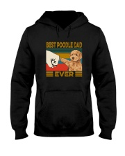 BEST  Poodle DAD EVER Hooded Sweatshirt thumbnail