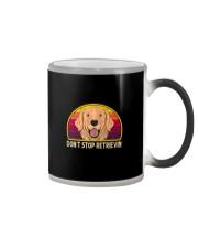 DON'T STOP RETRIEVIN' VT Color Changing Mug thumbnail