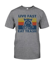 LIVE FAST EAT TRASH Classic T-Shirt thumbnail