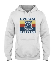 LIVE FAST EAT TRASH Hooded Sweatshirt thumbnail
