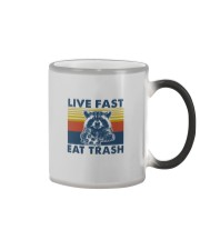 LIVE FAST EAT TRASH Color Changing Mug thumbnail