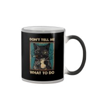 DON'T TELL ME WHAT TO DO Color Changing Mug thumbnail