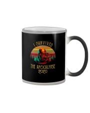 I SURVIVED THE APOCALYPSE 2020 Color Changing Mug thumbnail