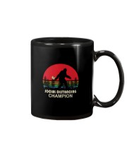SOCIAL DISTANCING CHAMPION TOILET PAPER BIGFOOT Mug tile