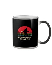 SOCIAL DISTANCING CHAMPION TOILET PAPER BIGFOOT Color Changing Mug thumbnail
