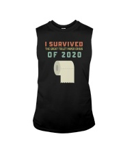 I SURVIVED THE GREAT TOILET PAPER CRISIS OF 2020 Sleeveless Tee thumbnail