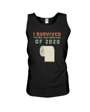 I SURVIVED THE GREAT TOILET PAPER CRISIS OF 2020 Unisex Tank thumbnail