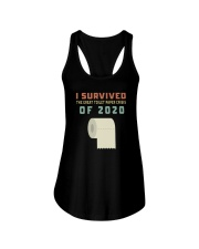 I SURVIVED THE GREAT TOILET PAPER CRISIS OF 2020 Ladies Flowy Tank thumbnail