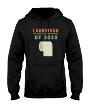 I SURVIVED THE GREAT TOILET PAPER CRISIS OF 2020 Hooded Sweatshirt thumbnail